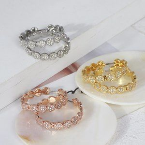 Kate Spade Geometric Ring Earrings